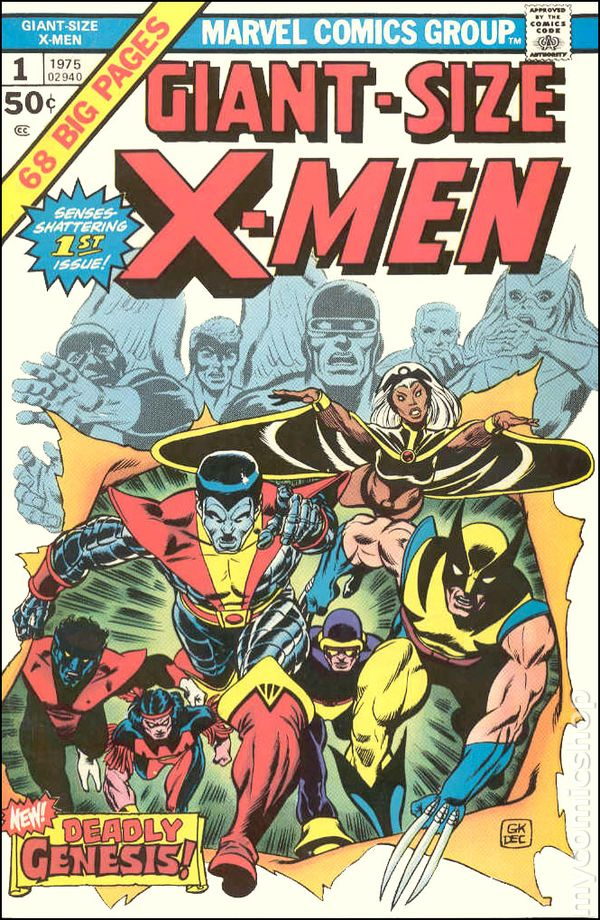 Giant Size X-Men (1975) comic books