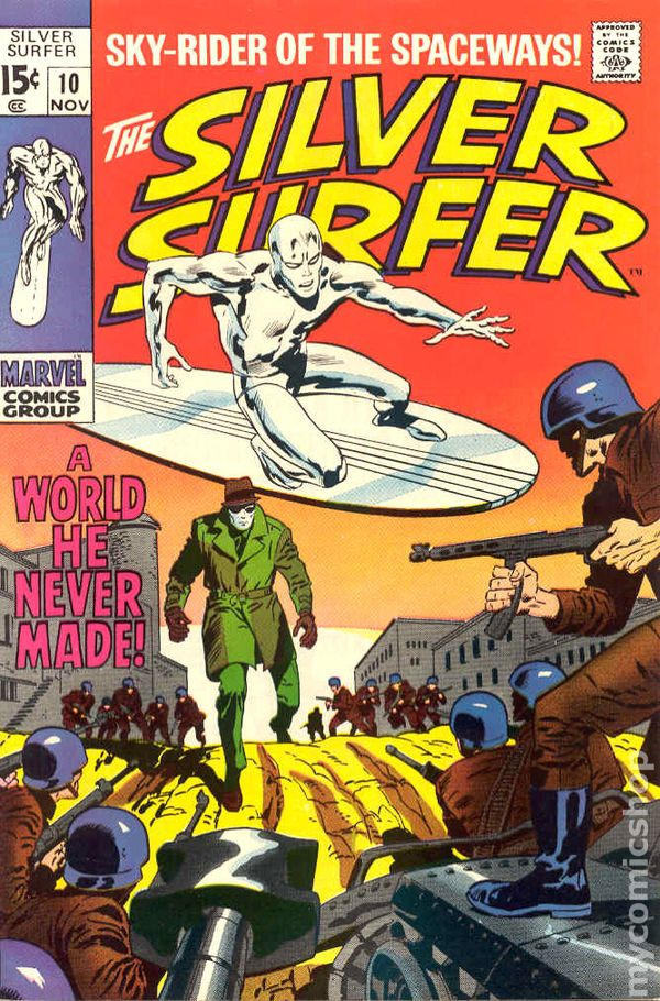 Silver Surfer 1968 1st Series Comic Books
