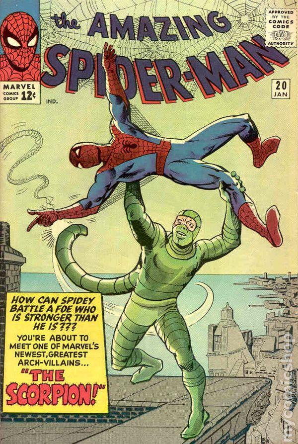 Amazing spider man 1963 1st series comic books - Marvel spiderman comics pdf ...