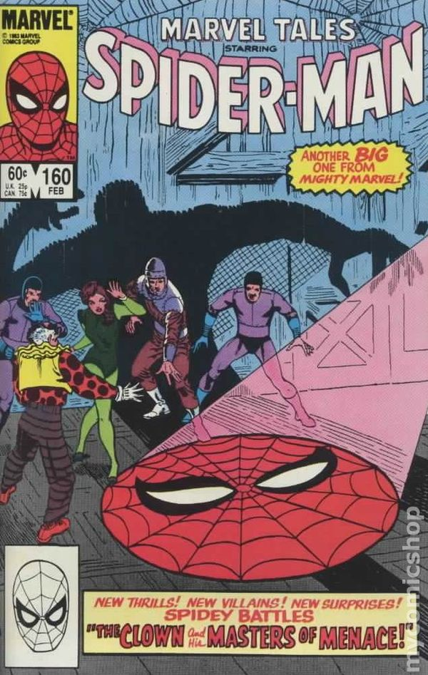 Marvel Tales #199 VF 1987 Stock Image