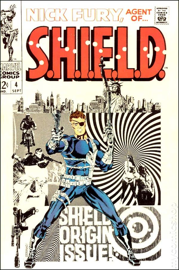 Image result for nick fury agent of shield 1