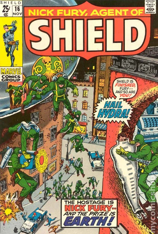 Nick Fury Agent of SHIELD #6 GD//VG 3.0 1968 Stock Image Low Grade