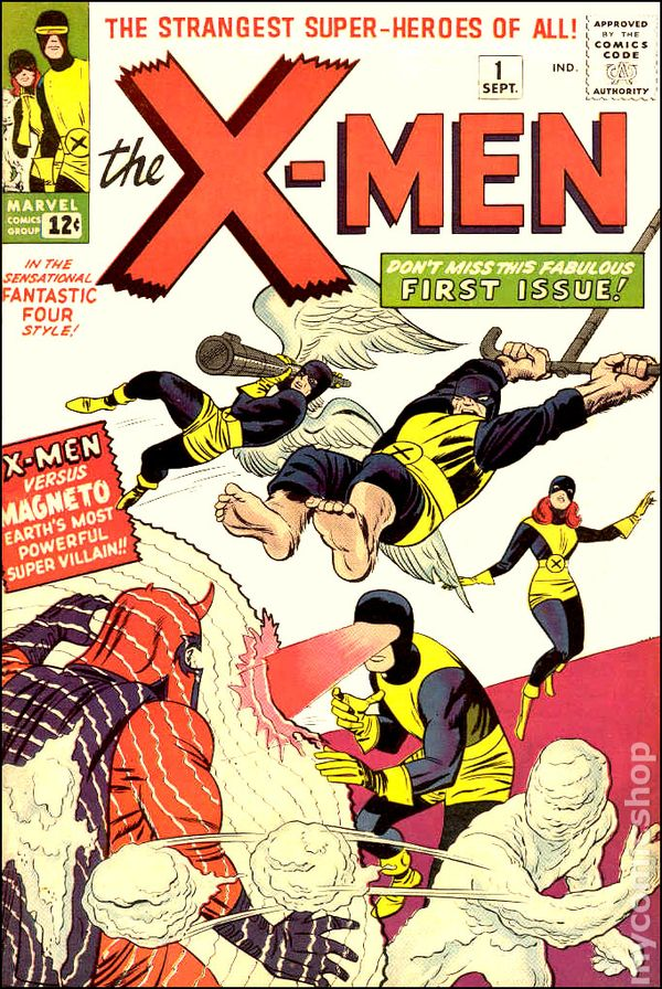 Image result for the x men 1963
