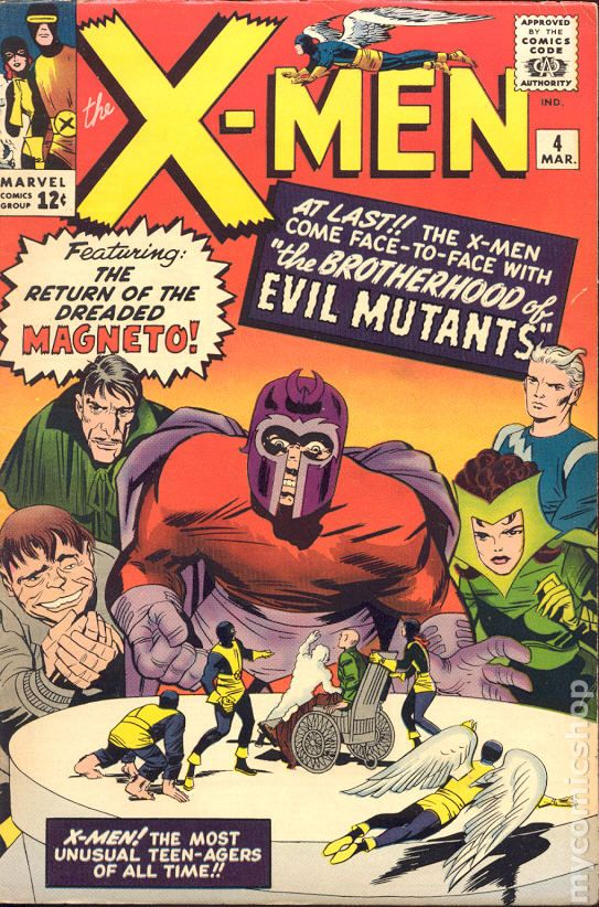 Image result for x-men magneto comic 1963