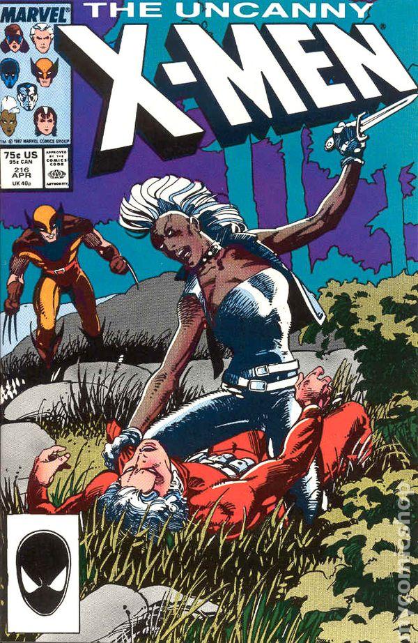Uncanny X-Men #216 Crimson Commando Wolverine Storm Marvel Comics Comic F-//F