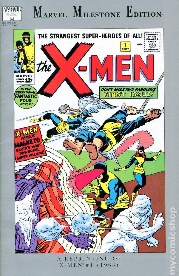 Marvel Milestone Edition X Men 1991 Comic Books