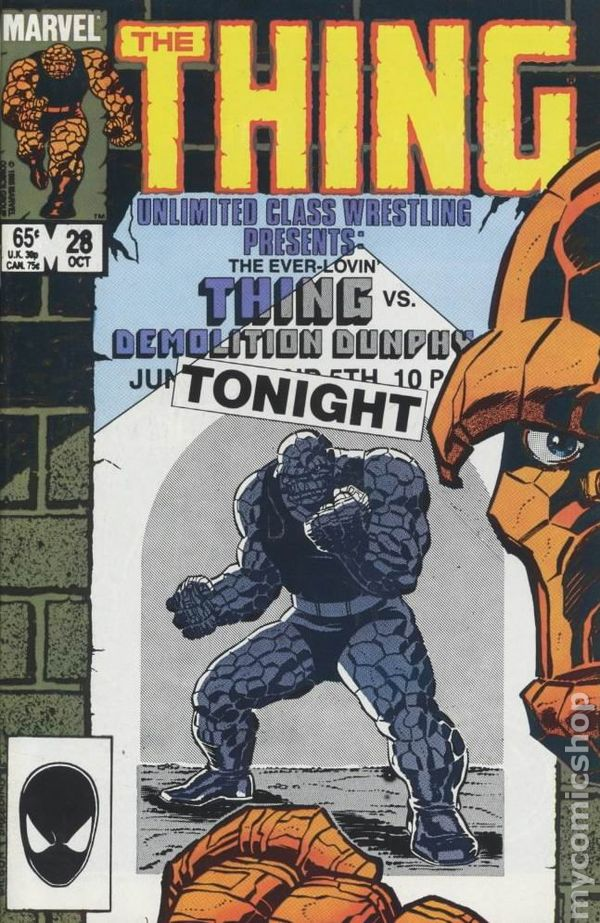MARVEL COMICS THE THING #10