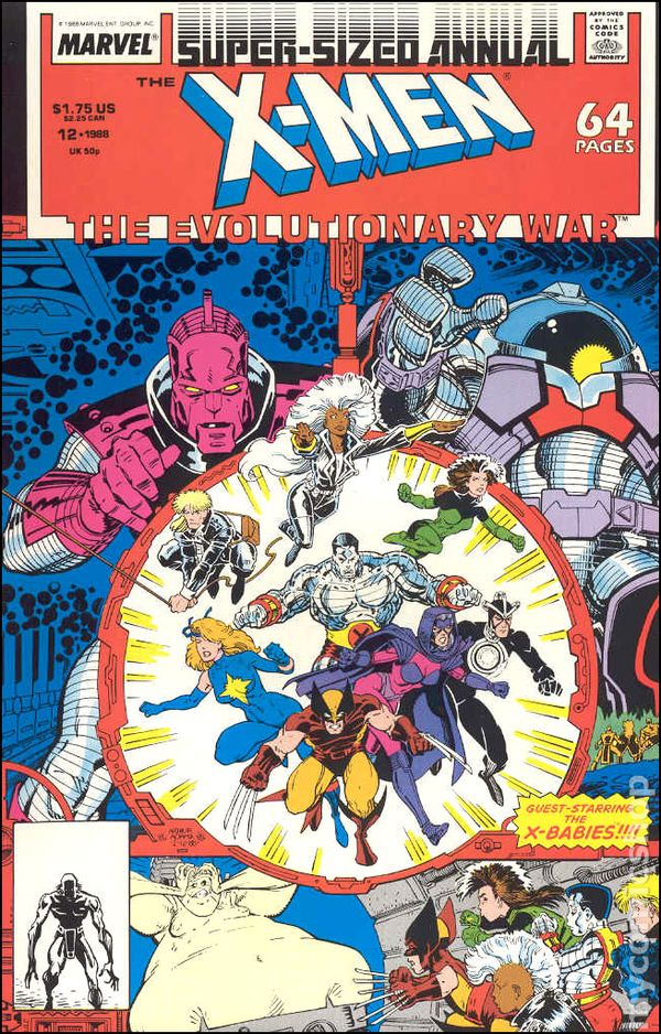 The Uncanny X-Men Annual 1996 Howard Mackie /& David Perrin