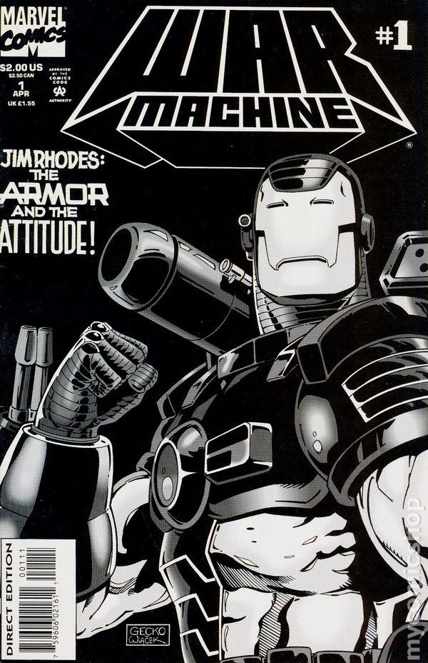 1st Series #8P 1994 VF Stock Image War Machine