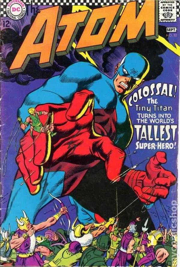 Close of eternal curse (?) [Hawkgirl, Atom, Wonder Woman] 676729