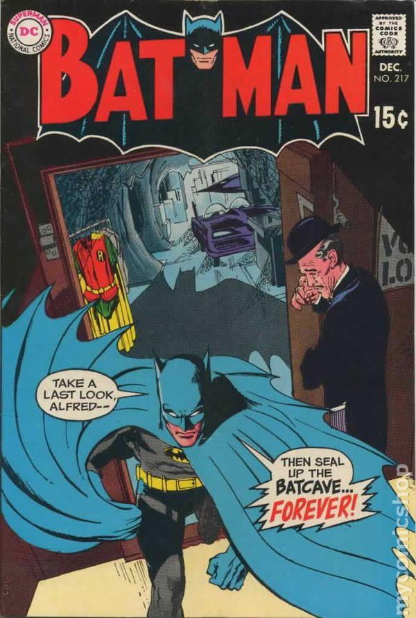 batman  1940  comic books 1960