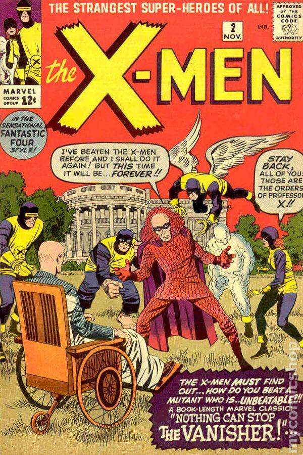 X Men 2 Comic Uncanny X-Men (1963 1s...