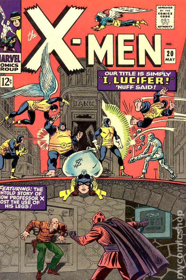 X Men Comic Books Issue 20