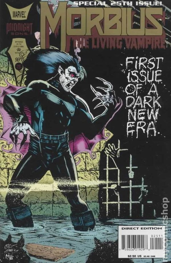 Morbius the Living Vampire (1992) comic books