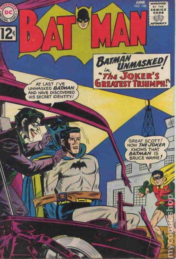 Batman 1940 Comic Books 1960 1969