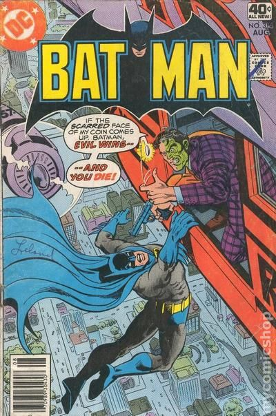 Batman 1940 Comic Books 1970 1979
