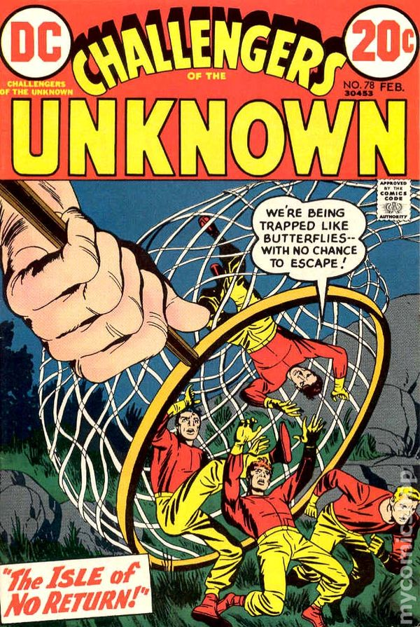 Challengers Of The Unknown 1958 Dc 1st Series Comic Books