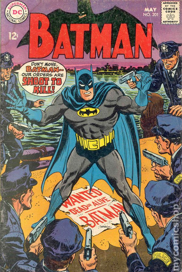 Batman #201