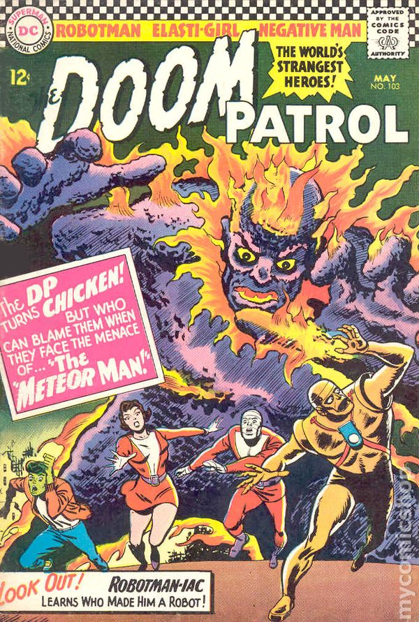 Doom Patrol 1964 1st Series Comic Books