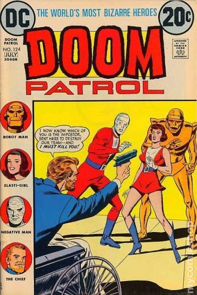 Doom Patrol Comic Books Issue 124