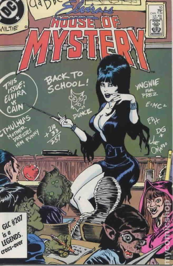 elvira u0026 39 s house of mystery  1986  comic books