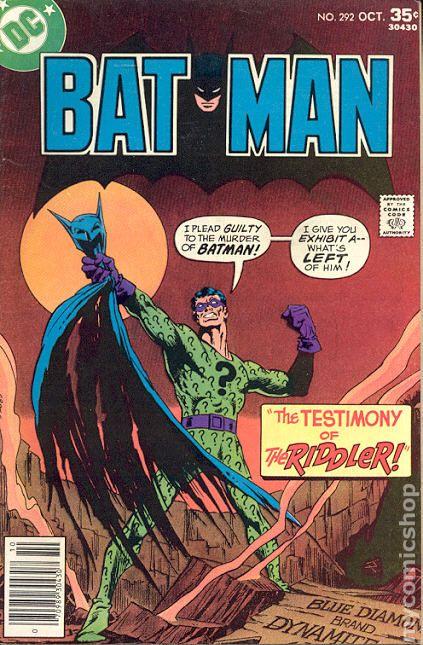 Comic Books In Batman Who Killed Batman