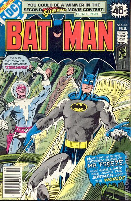 batman  1940  comic books 1970