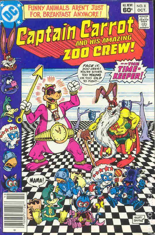 Captain Carrot #13 1983 VG Stock Image Low Grade
