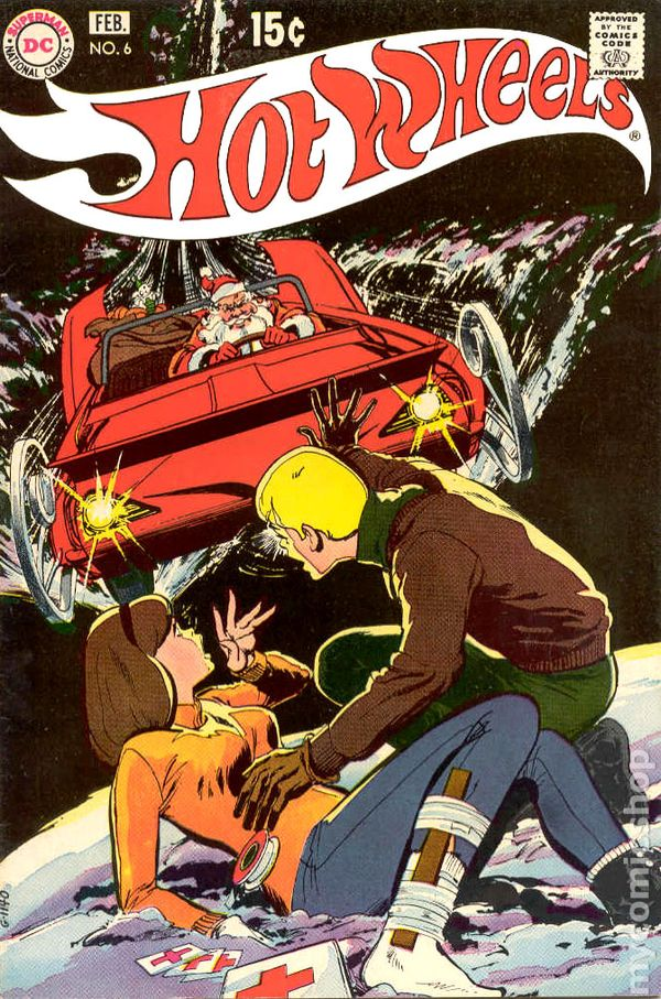 hot wheels  1970  comic books