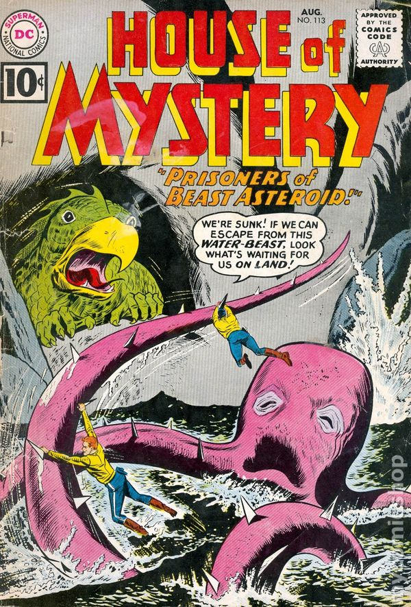 House Of Mystery (1951-1983 1st Series) 113 GD 2.0