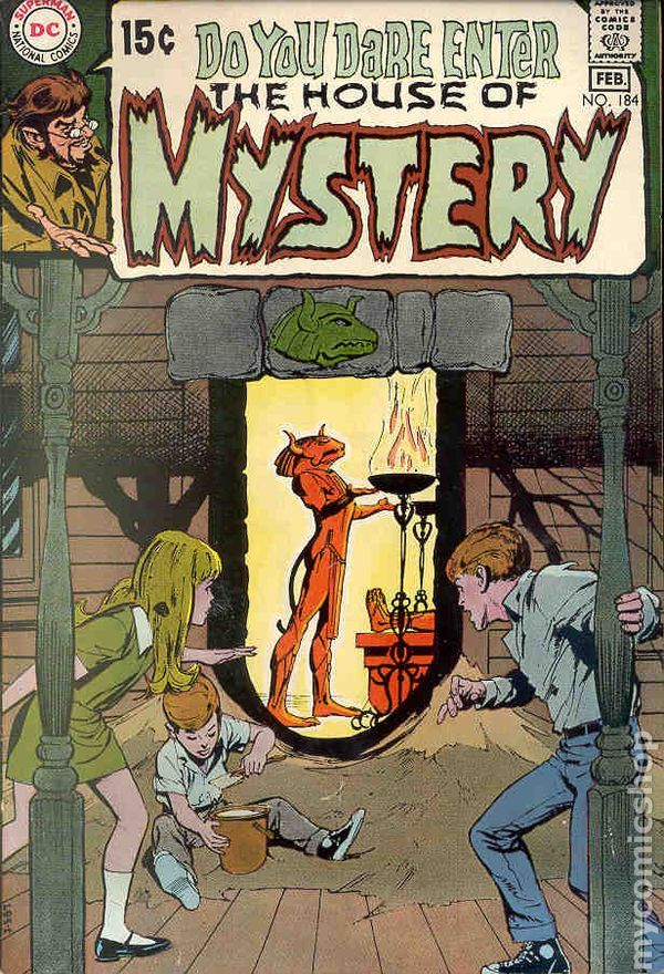 House Of Mystery (1951-1983 1st Series) Comic Books 1970-1979