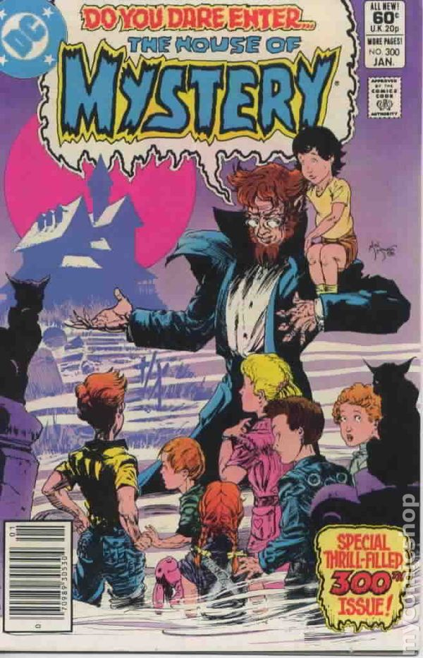 House Of Mystery (1951-1983 1st Series) 300 VG