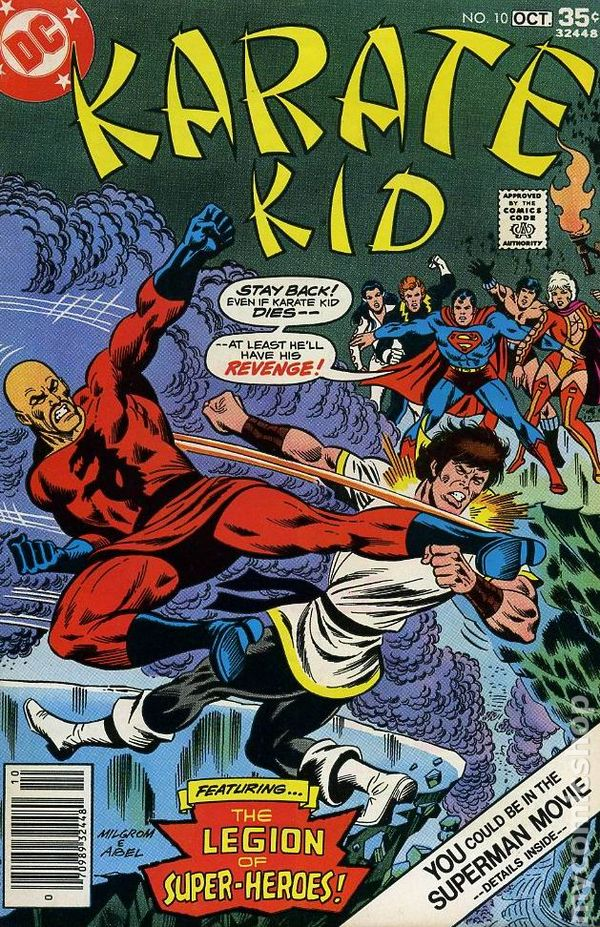 karate kid 1976 comic books