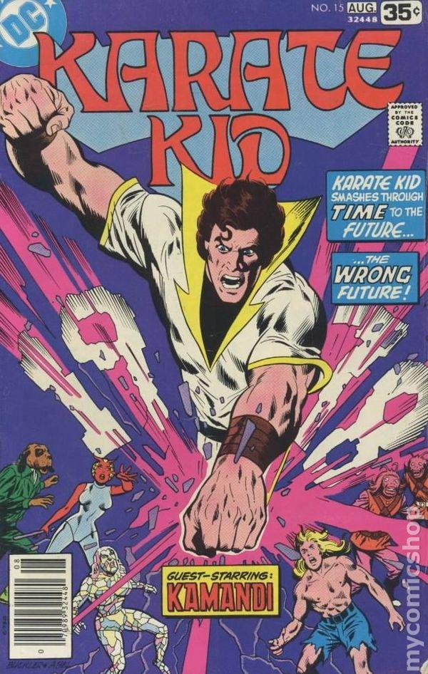 Karate Kid  Dc Comics