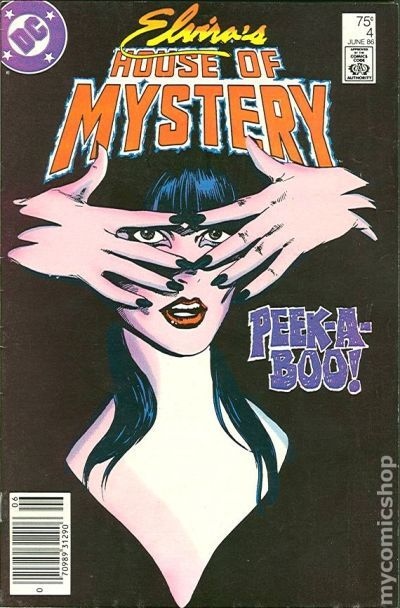 #7 Mint Comic Book 1986 Series ELVIRA/'S HOUSE OF MYSTERY