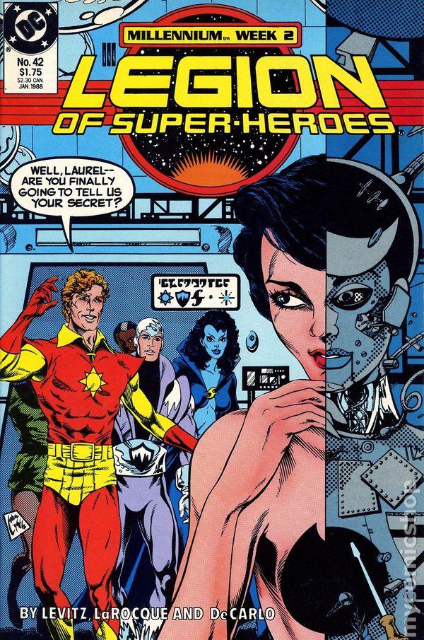 legion of super heroes 1984 3rd series comic books. Black Bedroom Furniture Sets. Home Design Ideas