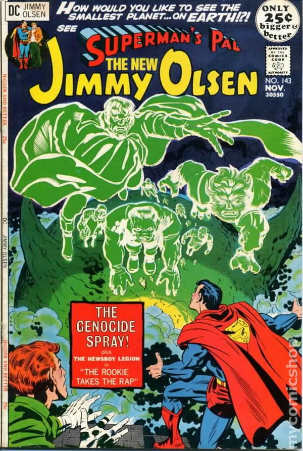 Superman/'s Pal Jimmy Olsen Comic Book #141 DC Comics 1971 VERY FINE+