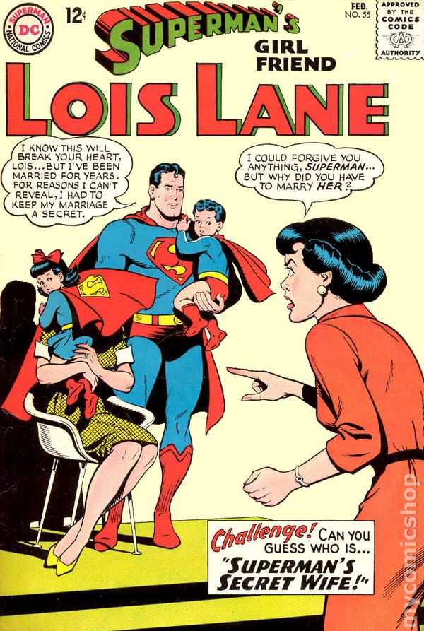 Supermans girlfriend lois lane 1958 comic books supermans girlfriend lois lane 1958 55 thecheapjerseys Image collections