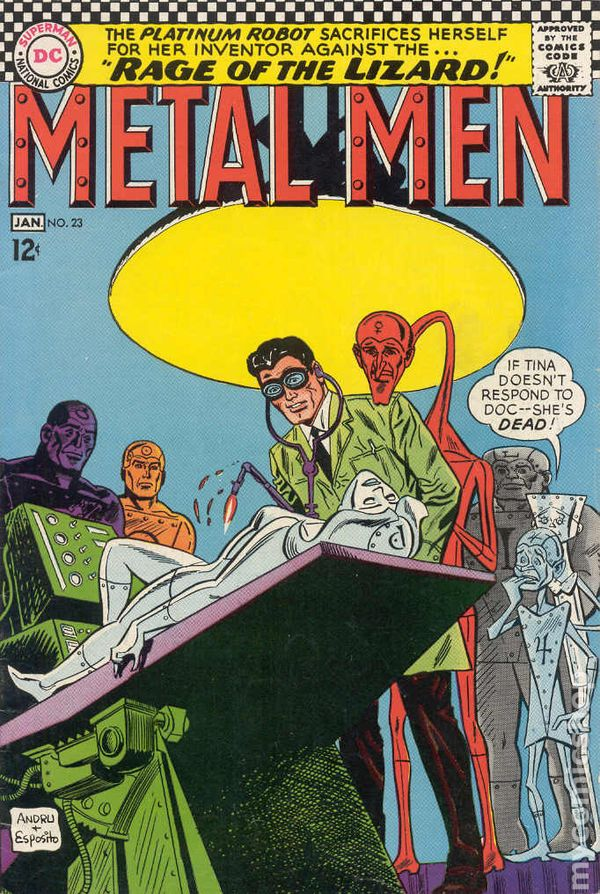 Metal Men 1963 1st Series Comic Books