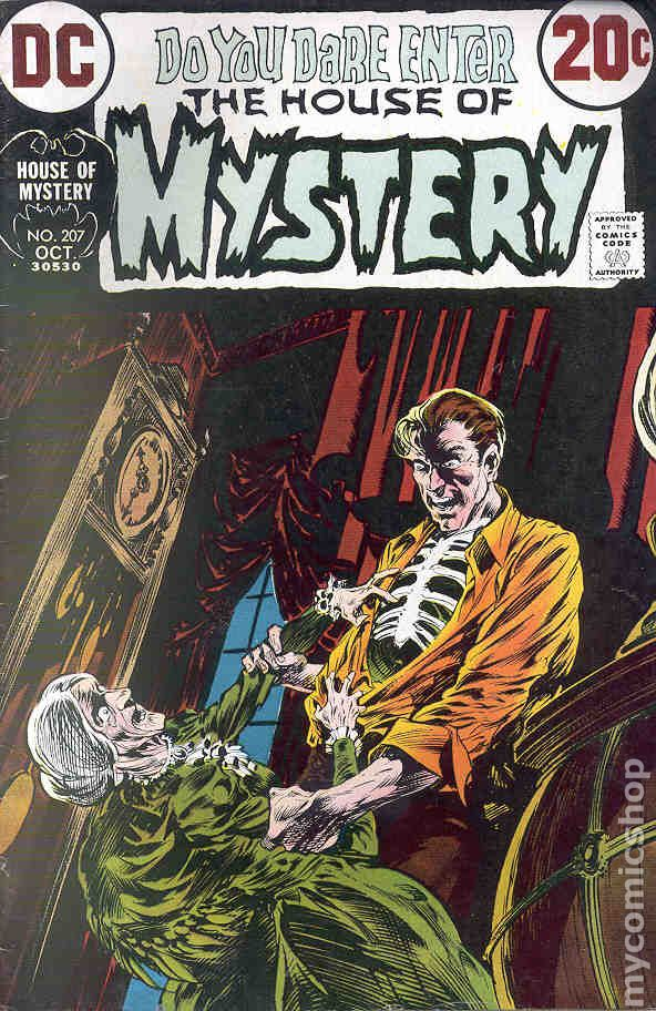 House Of Mystery (1951-1983 1st Series) 207 VG- 3.5