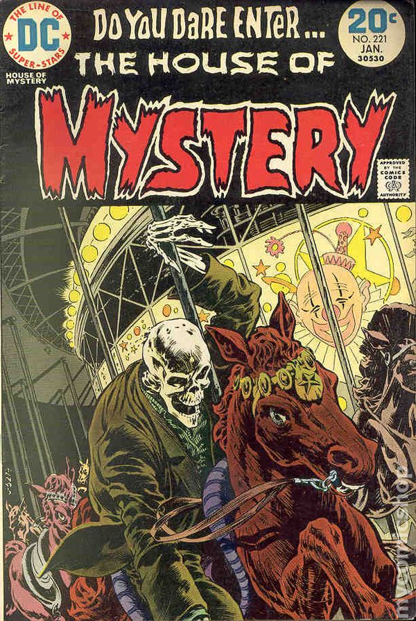 House Of Mystery (1951-1983 1st Series) 221 VG 4.0