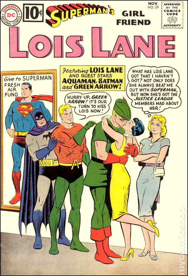 Superman/'s Girlfriend Lois Lane #1 FRIDGE MAGNET comic book