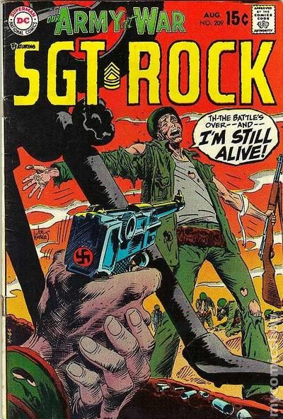 our army at war  1952  comic books