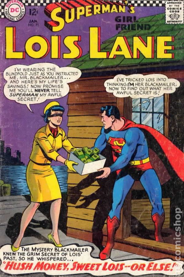 Superman S Girlfriend Lois Lane 1958 Comic Books