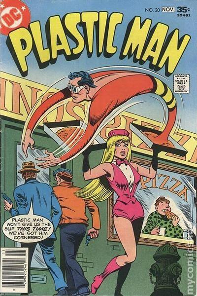 Plastic Man 1966 1st Series Dc Comic Books