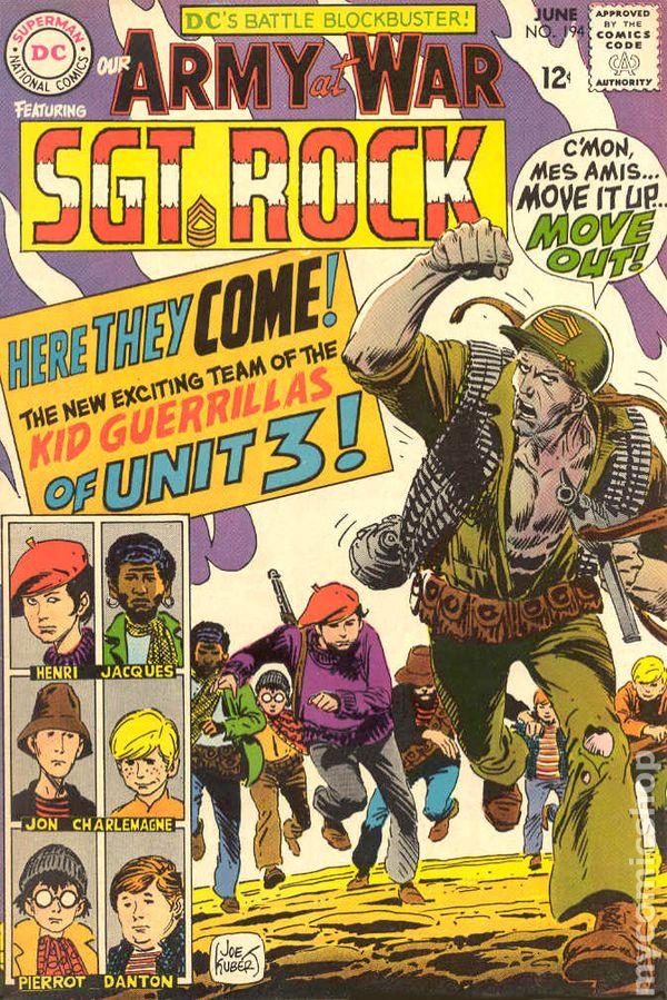 Army At War #194 Very Good Sgt. Rock DC Comics CBX 201