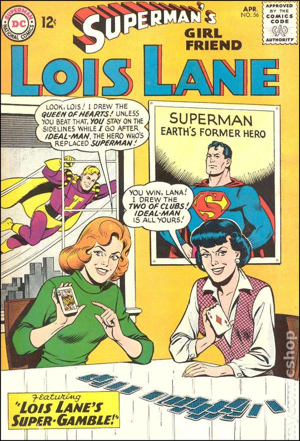 Supermans girlfriend lois lane 1958 comic books supermans girlfriend lois lane 1958 56 thecheapjerseys Image collections