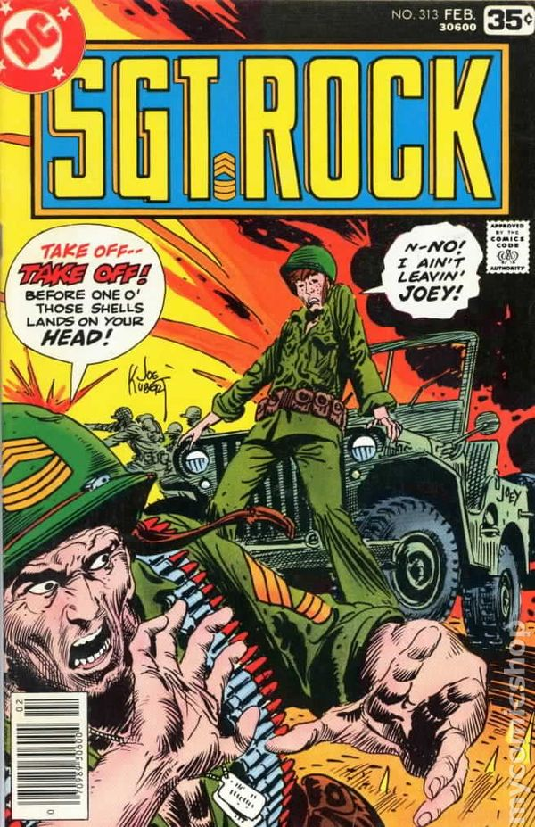 Sgt. Rock (1977) comic books