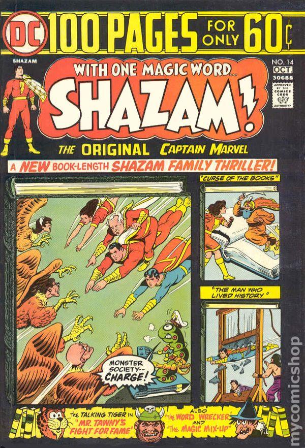 Shazam 1973 Comic Books