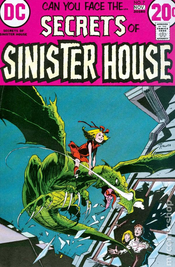 Secrets Of Sinister House  1972  Comic Books